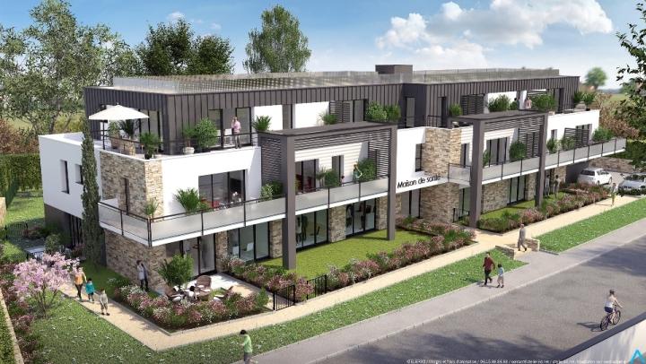 ATELIER 3D Graphiste Immobilier Vannes Arzon Maison De Sante Jour 2k 1