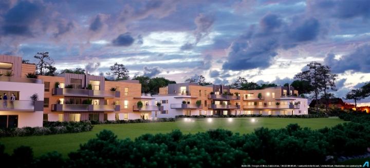 ATELIER 3D Graphiste Immobilier Vannes Auray Parc Victoria Nuit 2k 1