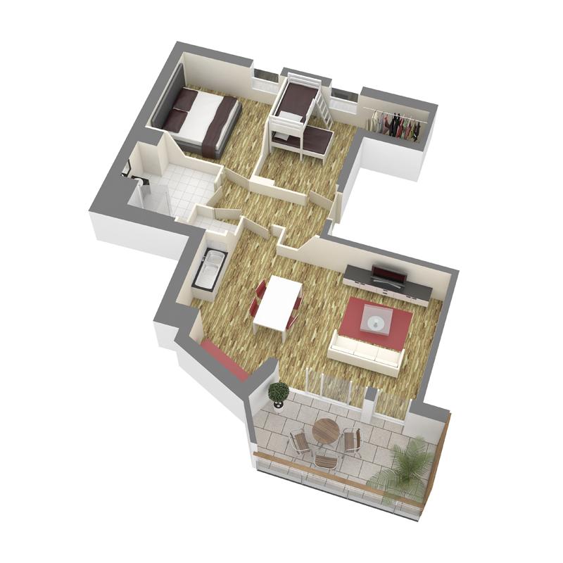 ATELIER 3D Graphiste Immobilier Vannes Axo T3