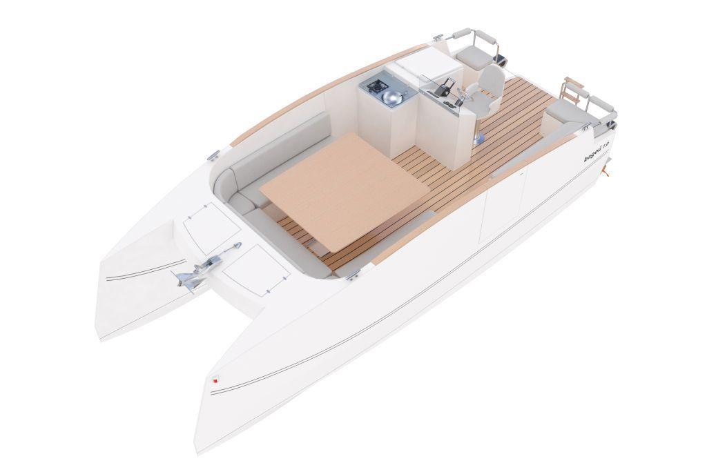 ATELIER 3D Graphiste Immobilier Vannes BAGOU BOAT Grande Table