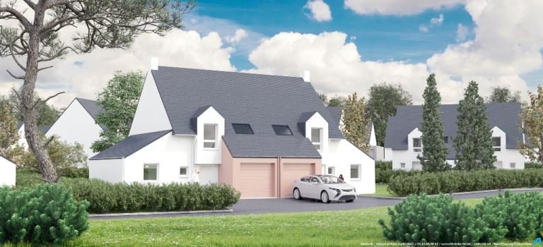 ATELIER 3D Graphiste Immobilier Vannes Baden Le Triskel Maison E 1 2k