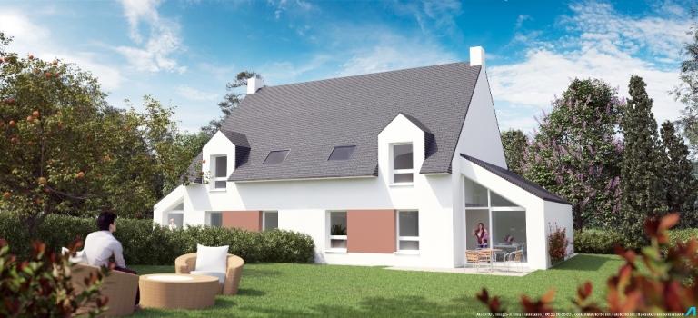 ATELIER 3D Graphiste Immobilier Vannes Baden Le Triskel Maison E 2 2k