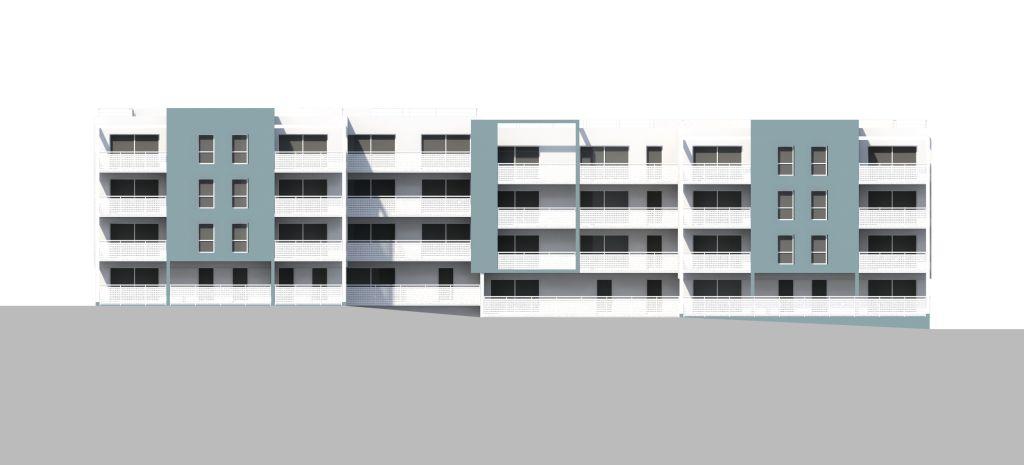 ATELIER 3D Graphiste Immobilier Vannes Bezidel Aiguillon BatCD Elevation Sud