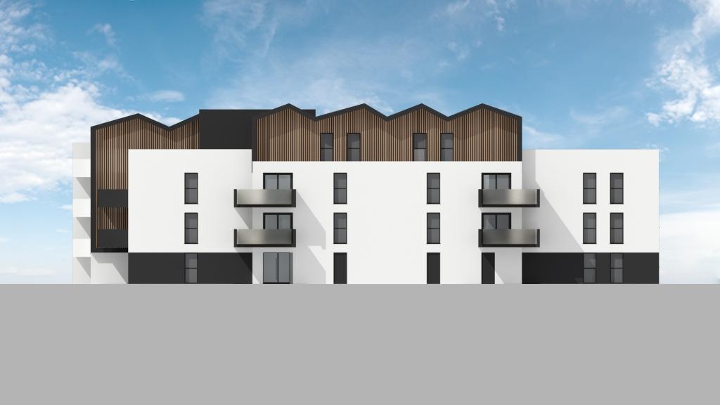 ATELIER 3D Graphiste Immobilier Vannes Bezidel Bouygues Lot 40 Elevation Nord Est