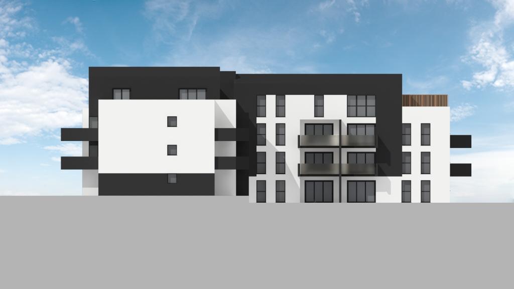 ATELIER 3D Graphiste Immobilier Vannes Bezidel Bouygues Lot 40 Elevation Nord Ouest