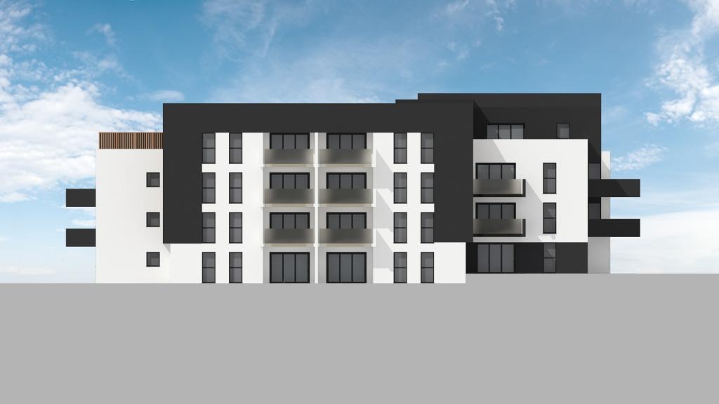 ATELIER 3D Graphiste Immobilier Vannes Bezidel Bouygues Lot 40 Elevation Sud Est