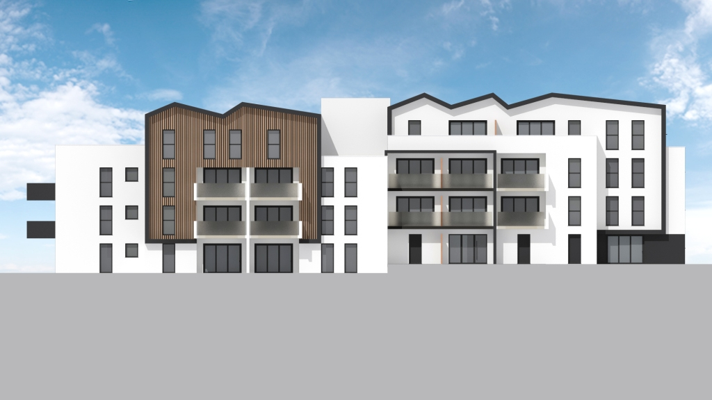 ATELIER 3D Graphiste Immobilier Vannes Bezidel Bouygues Lot 41 Elevation Est