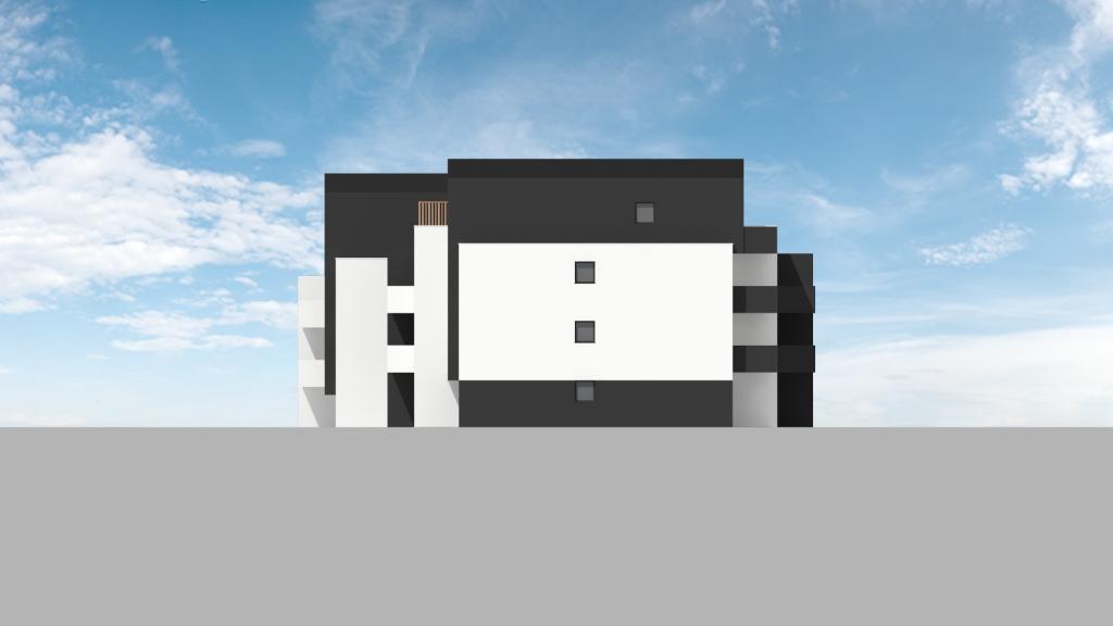 ATELIER 3D Graphiste Immobilier Vannes Bezidel Bouygues Lot 41 Elevation Nord