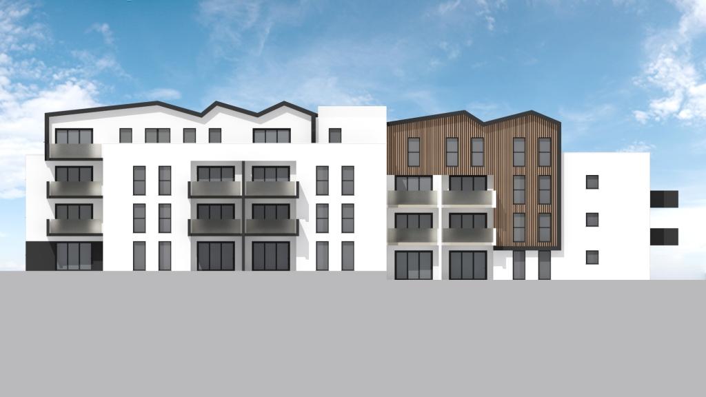 ATELIER 3D Graphiste Immobilier Vannes Bezidel Bouygues Lot 41 Elevation Ouest