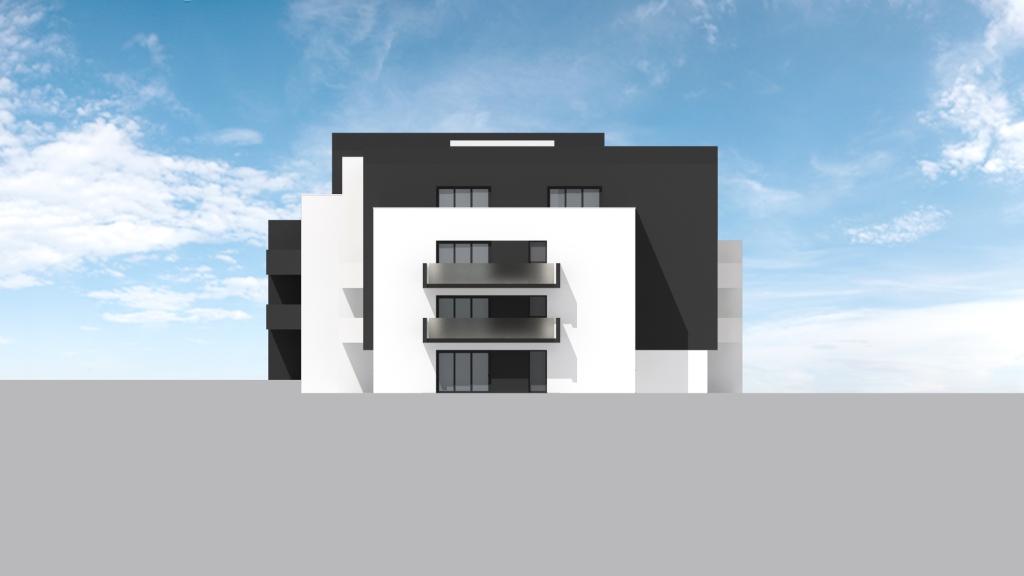 ATELIER 3D Graphiste Immobilier Vannes Bezidel Bouygues Lot 41 Elevation Sud