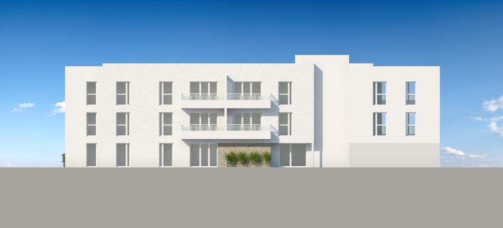 ATELIER 3D Graphiste Immobilier Vannes Bezidel Promogim Batiment B Elevation Nord