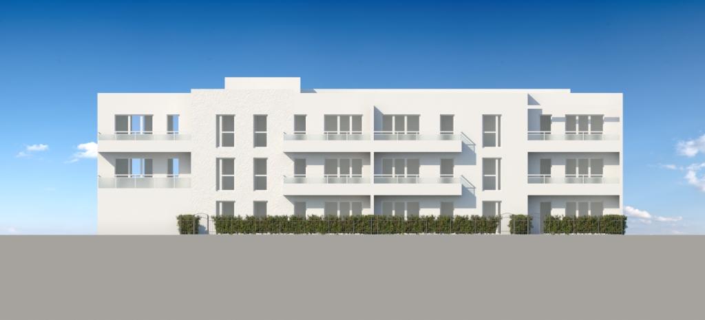 ATELIER 3D Graphiste Immobilier Vannes Bezidel Promogim Batiment B Elevation Sud