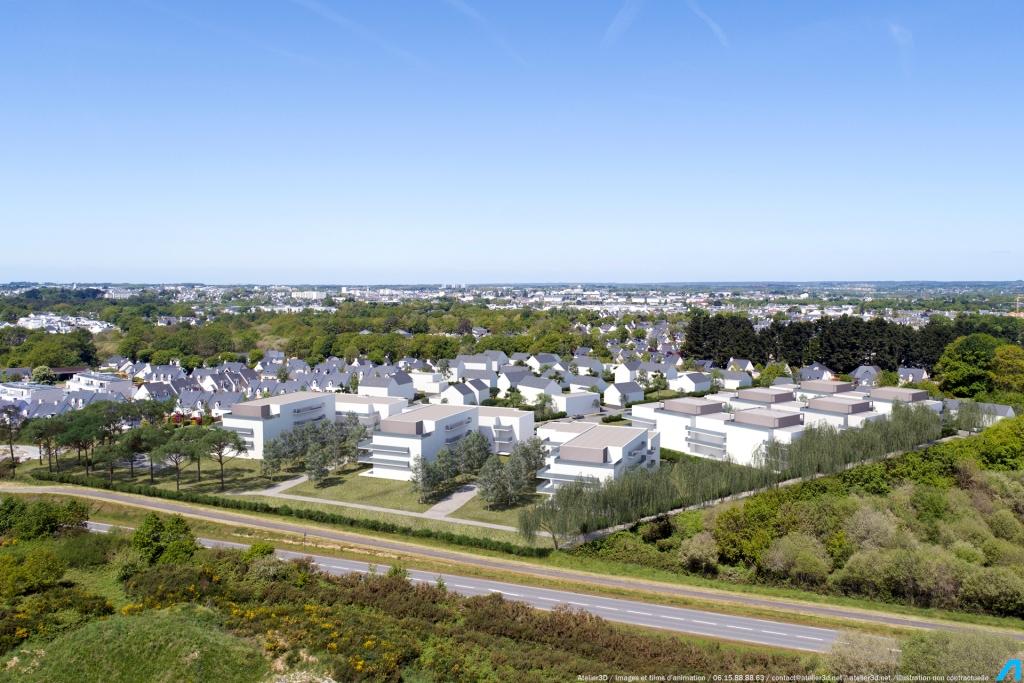 ATELIER 3D Graphiste Immobilier Vannes Bezidel Lotissement Jour 1 2k