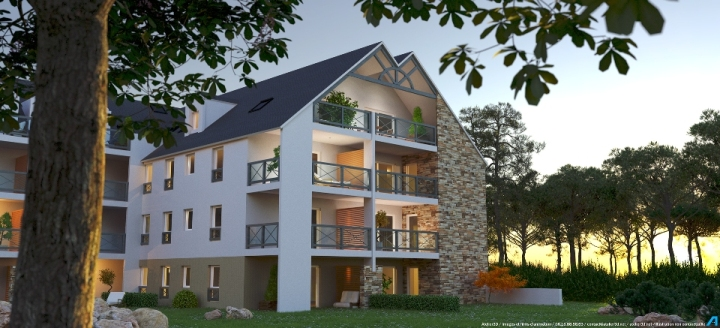 ATELIER 3D Graphiste Immobilier Vannes Carnac Les Korigans Nuit 2k