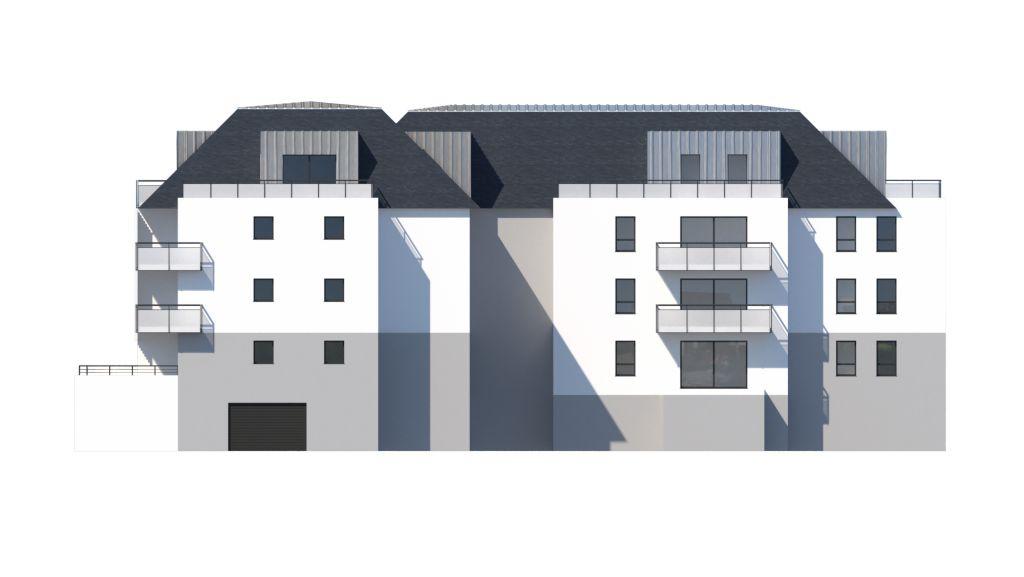 ATELIER 3D Graphiste Immobilier Vannes Concarneau Ilot3 Facade Est