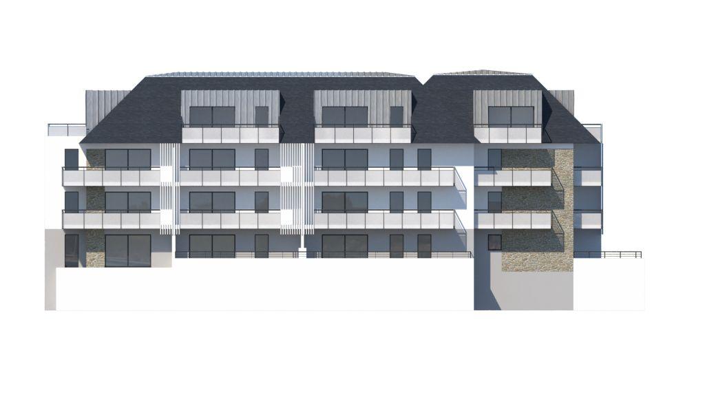 ATELIER 3D Graphiste Immobilier Vannes Concarneau Ilot3 Facade Ouest