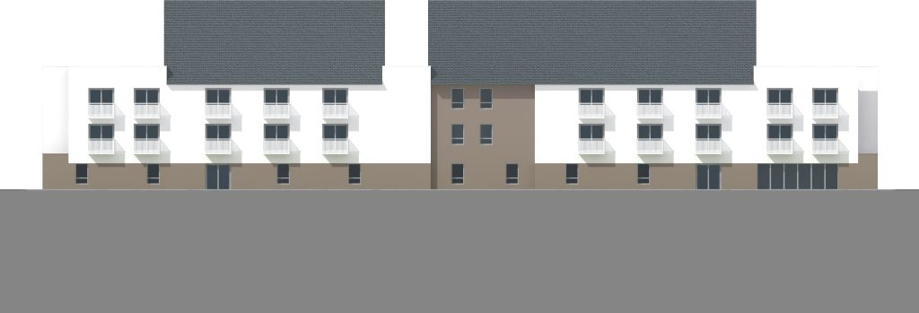 ATELIER 3D Graphiste Immobilier Vannes Dol De Bzh Foyer De Vie Elevation Est