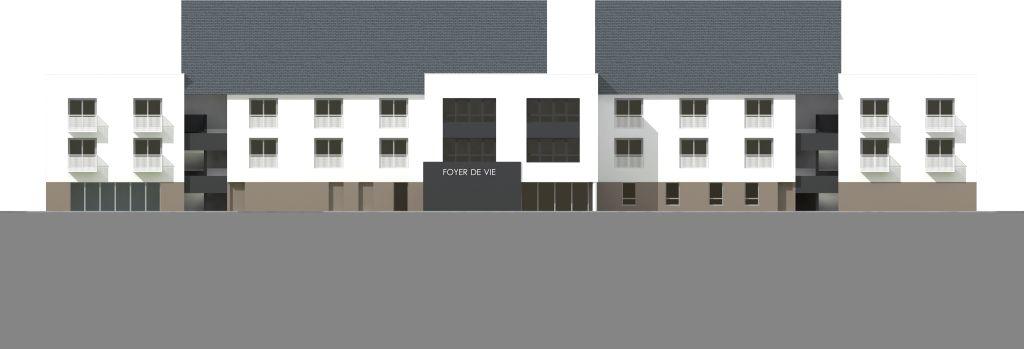 ATELIER 3D Graphiste Immobilier Vannes Dol De Bzh Foyer De Vie Elevation Ouest