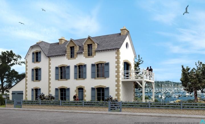 ATELIER 3D Graphiste Immobilier Vannes La Trinite Sur Mer Rehabilitation 2k