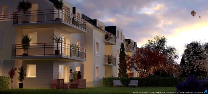 ATELIER 3D Graphiste Immobilier Vannes Le Printania Nuit 2k