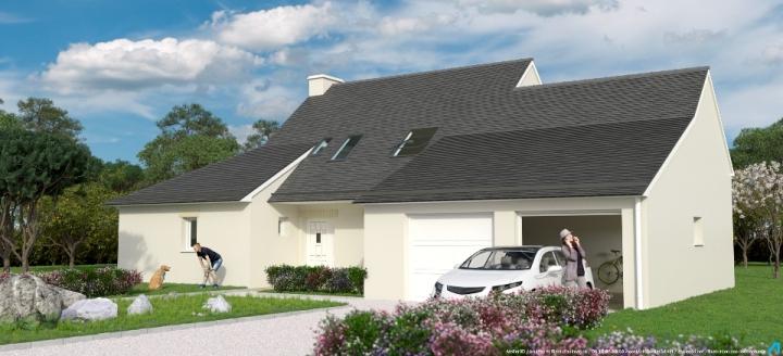 ATELIER 3D Graphiste Immobilier Vannes Le Domaine Du Chateau 2k