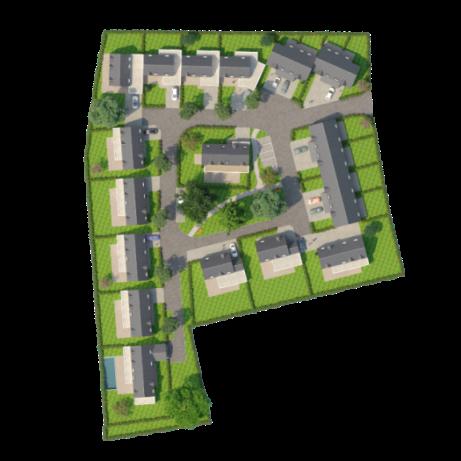 ATELIER 3D Graphiste Immobilier Vannes Les Maisons De La Plage Plan Masse 1