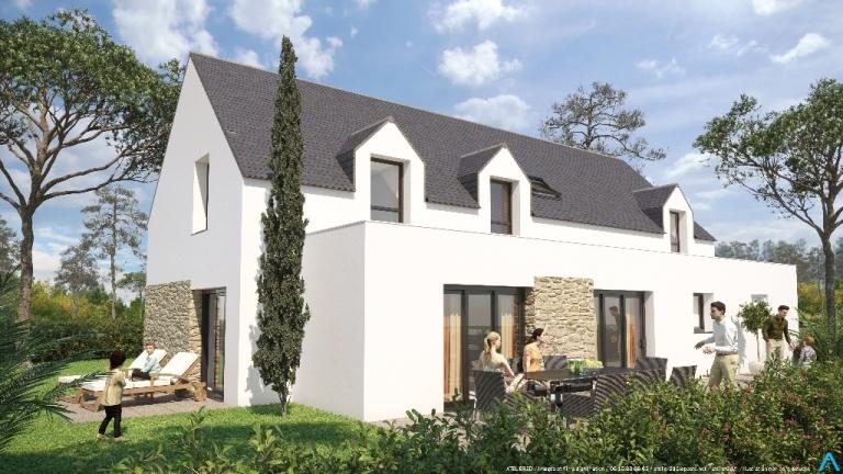 ATELIER 3D Graphiste Immobilier Vannes Maisons De La Plage Maison13 2K
