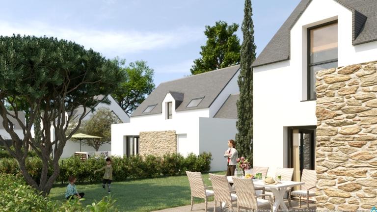 ATELIER 3D Graphiste Immobilier Vannes Maisons De La Plage Maison3 2K