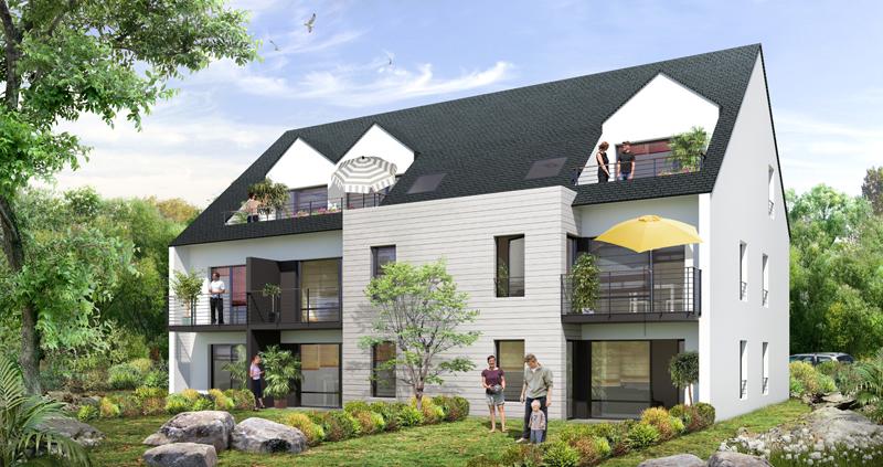 ATELIER 3D Graphiste Immobilier Vannes Perspective 4saisons