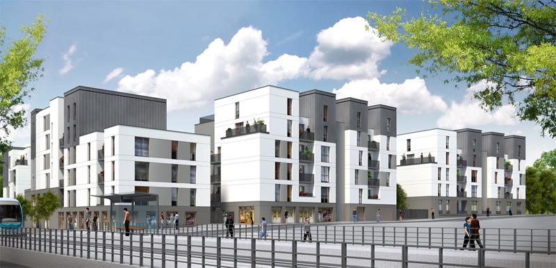 ATELIER 3D Graphiste Immobilier Vannes Perspective Image Commerciale 02