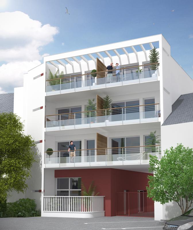 ATELIER 3D Graphiste Immobilier Vannes Perspective Jardin 02