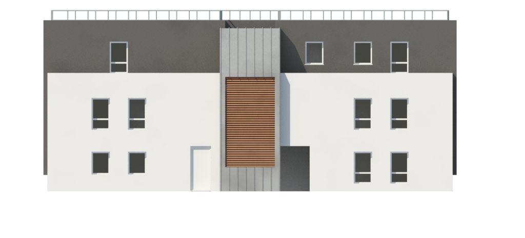 ATELIER 3D Graphiste Immobilier Vannes Vannes Cottage Elevation Nord 2