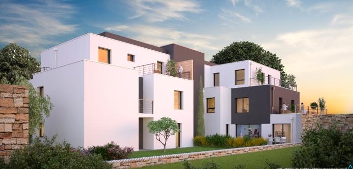 ATELIER 3D Graphiste Immobilier Vannes Vannes Villa Jeanne Arc Nuit 1 2k